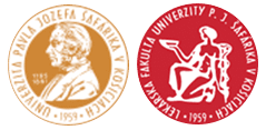 Logos der Pavol Jozef Safarik Universität in Kosice. Studieren Sie Medizin oder Zahnmedizin in Kosice!
