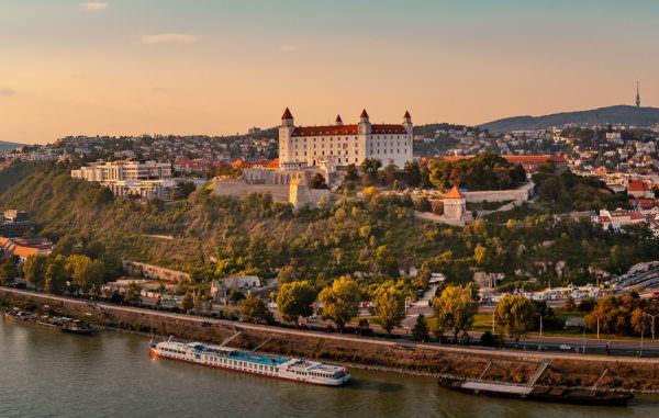 Pressburg in Bratislava