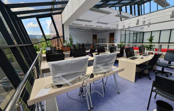 Computerräume der Jessenius Universität Martin